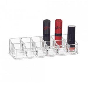 12 lipstick holder