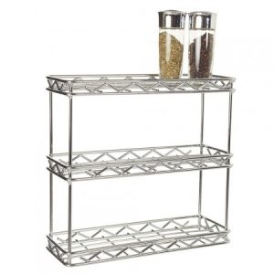 2 level free standing spice rack