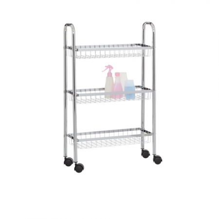 3 Tier Slim Trolley