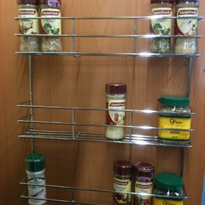 3 Tier Spice Rack - Chrome