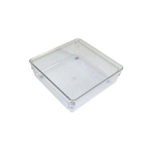 51mm h x 163mm square - Modular Drawer Organiser - Acrylic