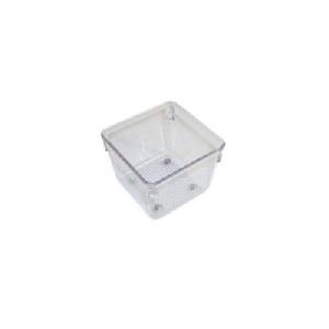 51mm h x 81mm square - Modular Drawer Organiser - Acrylic