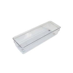 51mm h x 81mm x 250mm - Modular Drawer Organiser - Acrylic
