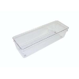 76mm h x 102mm x 203mm - Modular Drawer Organiser - Acrylic