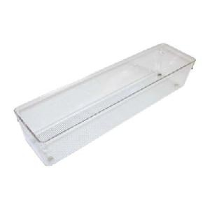 76mm h x 102mm x 406mm - Modular Drawer Organiser - Acrylic