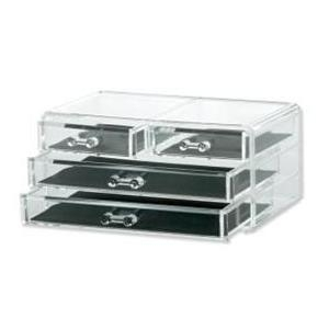 Acrylic 4 Drawer Jewellery Organiser