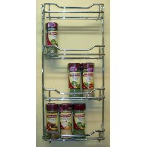 Chrome 4 Tier Spice Rack - Small1
