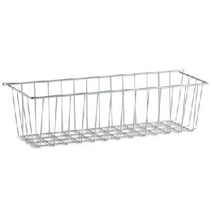 Elfa Side Basket - Large - White