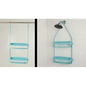 Flex Shower Caddy - Surf Blue