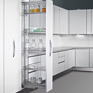 Pullout Pantry Suits 400 Cabinet H840 Organise At