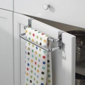 Over Door Double Tea Towel Rail