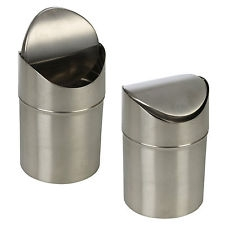 Stainless Steel Bench Top Bin