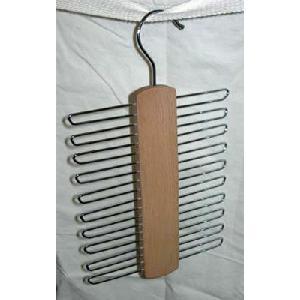 Tie & Belt Hanger - Beechwood