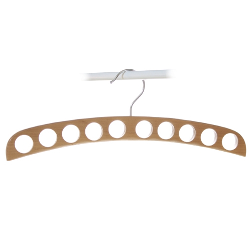 Timber 10 Hole Scarf Holder