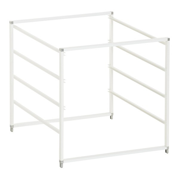 System 45 Short Frame - White - Organise at The Storage Shop