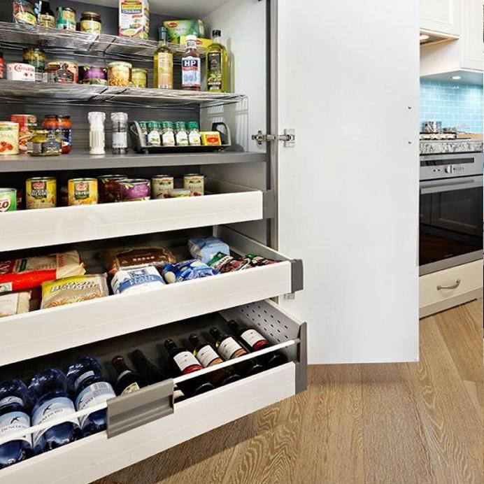 Kitchen Cabinet Interiors Pantry Units Corner Rotating Shelves